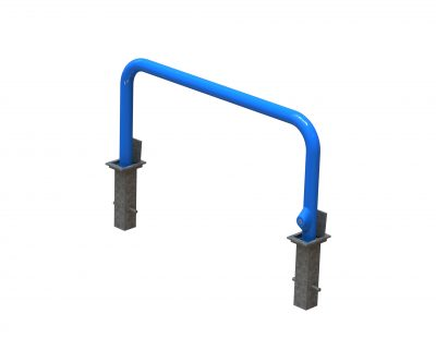 RRHB-76-1.5-GPC Removable Hoop Barrier