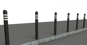 recycled bollards rampost